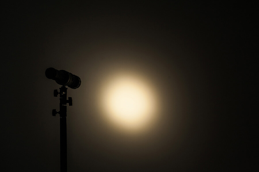 Форма луча фотофонарика Spotlight